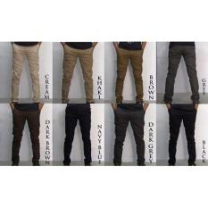 Celana Chino panjang Pria/Cowok