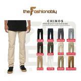 Harga Celana Chino Pants Pria Slim Fit Premium Quality Asli