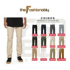 Beli Celana Chino Pants Pria Slim Fit Premium Quality Online Murah