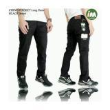 Celana Chino Pocket Celana Panjang Pria Chino Hitam Original