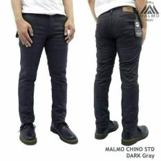 Diskon Celana Chino Pria Chino Pants Chino Premium Grey Celana Panjang Pria