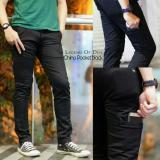 Celana Chino Pria Chino Pocket Hitam Celana Panjang Pria Murah Di Jawa Barat