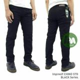 Jual Celana Chino Pria Celana Panjang Chino Black Malmo Impresif Celana Panjang Pria Di Indonesia