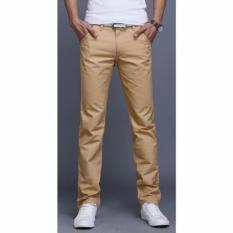 Beli Celana Chinos Panjang Pria Khaki Kredit Dki Jakarta