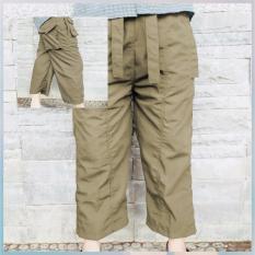 Beli Celanaku Celana Cingkrang Sirwal Tidak Isbal Boxer Ukuran L Cream Yang Bagus