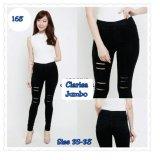 Jual Celana Clarissa Legging Jeans Silet Pant Hitam 168 Collection Branded