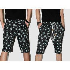 Beli Celana Cowok Casual Distro Trendy Gaul Printing Pants
