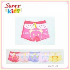 Celana Dalam Anak Perempuan Sorex 0553 (6 pcs)