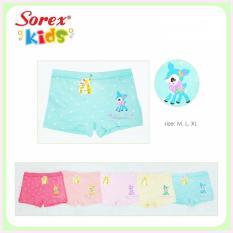 Celana Dalam Anak Perempuan Sorex 6553 (6 pcs)