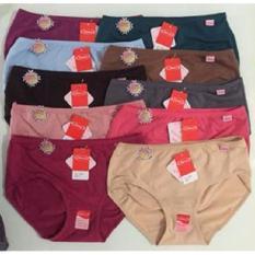 Celana Dalam Wanita Sorex -Ukuran Jumbo XXL/QL 3Pcs