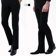 Beli Celana Formal Slimfit Twis Hitam 33 38