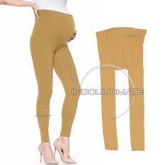 Celana Hamil / Celana Leging Hamil / celana panjang hamil LG-01/CREAM