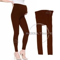Celana Hamil / Leging / Legging Hamil / Pakaian Celana Panjang Hamil Melar Awet Jumbo Long Pant LG-01 - BROWN