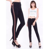 Jual Celana Hw Black Jeans Pita Red Maz Fr012 Dki Jakarta Murah