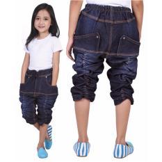 Jual Celana Jeans Anak Perempuan Catenzo Junior Cnj 273 Biru Denim Termurah