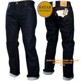 Spek Celana Jeans Standar Biru Garmen Pria Best Seller Jawa Barat
