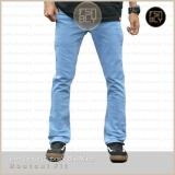 Toko Celana Jeans Bootcut Cutbray Pria Biru Muda Premium Quality Jawa Barat