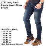 Harga Celana Jeans Celana Panjang Cowok Celana Panjang Navy Jeans Skinny Jeans Pria Navy Jeans Slimfit Fullset Murah