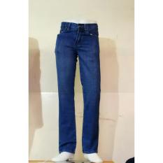 celana jeans cowok biru standar terbaru termurah