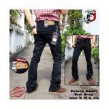 Beli Celana Jeans Cutbray Fifteen Denim Hitam Online Indonesia