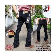 Review Tentang Celana Jeans Cutbray Fifteen Denim Hitam