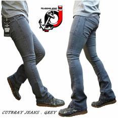 Harga Celana Jeans Cutbray Grey Fifteen Denim Origin