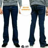 Toko Celana Jeans Cutbray Pria Biru Wosh Mco Clothing Di Indonesia