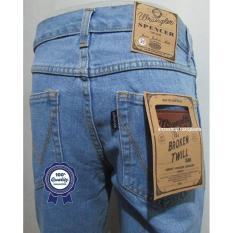 Celana Jeans Denim Bandung WANZ Standar/Regular Bioblitz Size 27-32 CO
