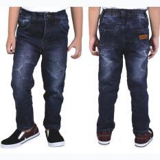 Celana Jeans Denim Panjang Anak Laki-Laki Cowok Warna Biru CBE 098 CR