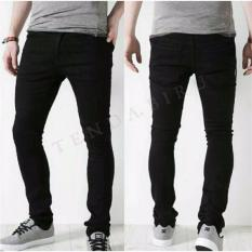 Perbandingan Harga Celana Jeans Denim Pria Exlusive Stretch Black Di Jawa Barat