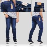 Review Celana Jeans Denim Pria Skinny Biowash Terbaru