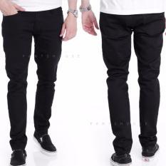 Jual Celana Jeans Denim Pria Stretch Hitam Online Di Jawa Barat