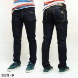 Beli Celana Jeans Denim Slimfit Skinny Premium Blueblack Kredit