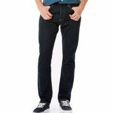 Toko Jual Celana Jeans Denim Standar Straight Pria Biru Dongker