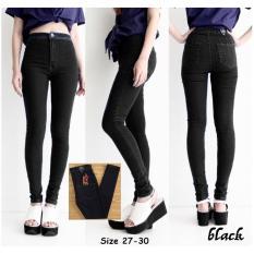 Miliki Segera Celana Jeans High Waist Pants Premium Black