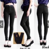 Diskon Celana Jeans Highwaits Puny Black Size 27 Branded