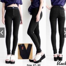 Spek Celana Jeans Highwaits Puny Black Size 29 Tokolobo