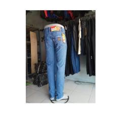 Celana jeans Lois basic biru