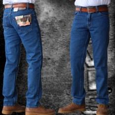 Beli Celana Jeans Lvs Regular Standard Pria Biru Biowash Di Jawa Barat