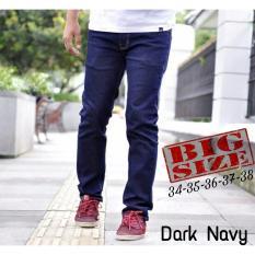 Beli Celana Jeans Panjang Pria Jeans Big Size Pria Jeans Jumbo Prai Pakai Kartu Kredit