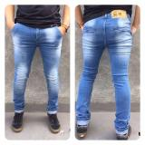 Promo Station Jeans Celana Jeans Panjang Skinny Straightch Pants Bahan Sofjeans Celana Jeans Pria