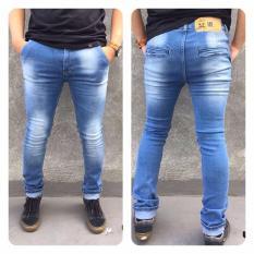 Spesifikasi Station Jeans Celana Jeans Panjang Skinny Straightch Pants Bahan Sofjeans Baru