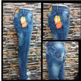 Beli Celana Jeans Panjang Pria Regular Terang Pake Kartu Kredit