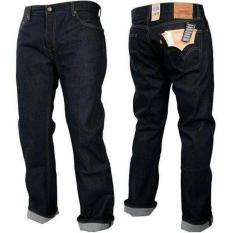Celana Jeans Panjang Pria Wrangler_Dark Blue