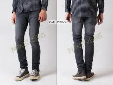 Celana Jeans Panjang Skinny Fit Pria /  Denim Cowok Skiny Pensil PUM14