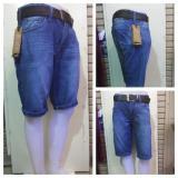 Review Celana Jeans Pendek Pria Indonesia