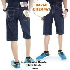 Spesifikasi Celana Jeans Pendek Standar Pria Dark Blue Mco Clothing