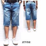 Jual Celana Jeans Pria Celana Pendek Pria Model Jeans Sobek Antik