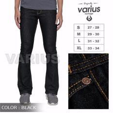 Obral Celana Jeans Pria Cutbray Blue Black Murah