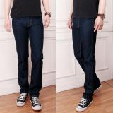 Promo Celana Jeans Pria Garmen Biru Tua Reguler